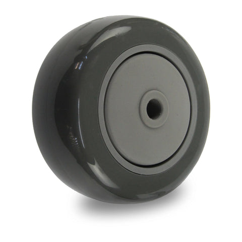 PUQ75 <span>85 Kg 75mm Grey Polyurethane</span>