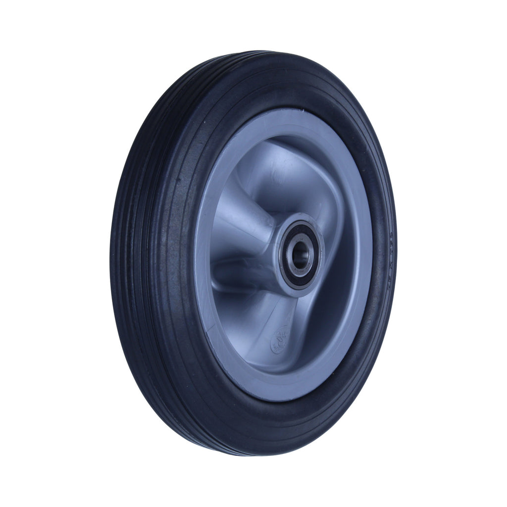 R250/50C-PRYQ58 150 Kg Black Rubber Wheel