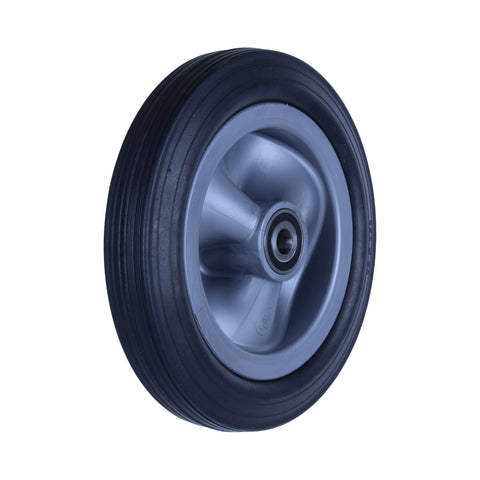 R250/50C-PRYQ58 150kg Black Rubber Wheel