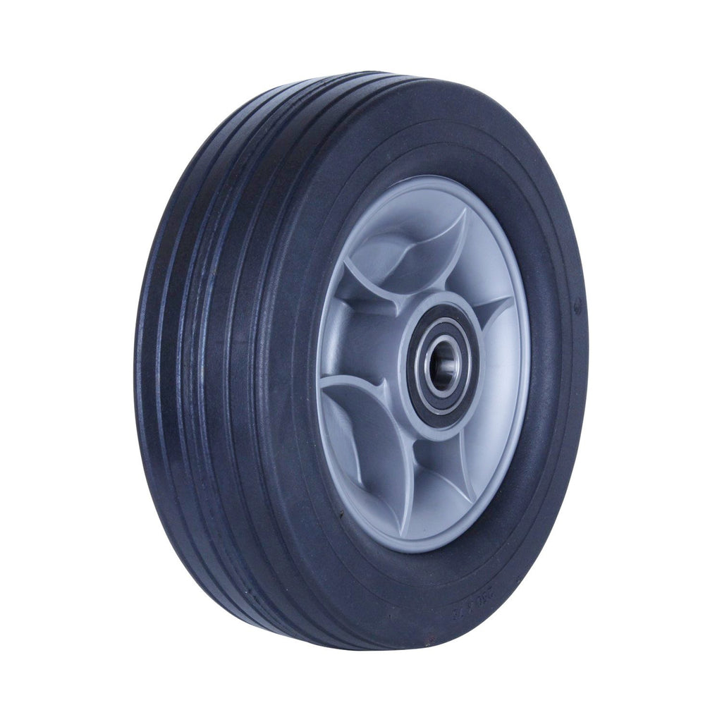 R250/75C-PRWQ20 180 Kg Black Rubber Wheel