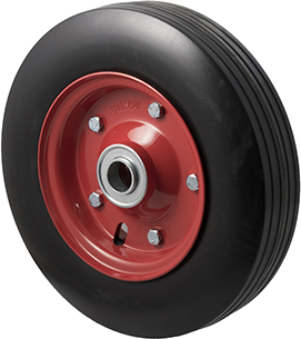 R280/70R-SRB10 200 Kg <span>Black Rubber Wheel</span>