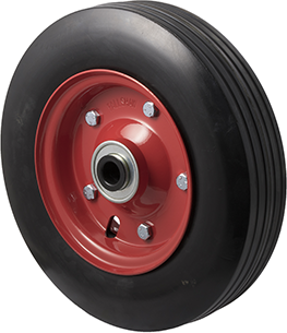 R280/70R-SRB34 200 Kg <span>Black Rubber Wheel</span>