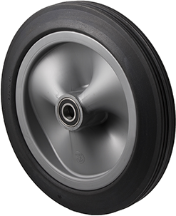 R300/50C-PRYQ20 150 Kg <span>Black Rubber Wheel</span>