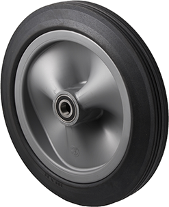 R300/50C-PRYQ34 150 Kg <span>Black Rubber Wheel</span>