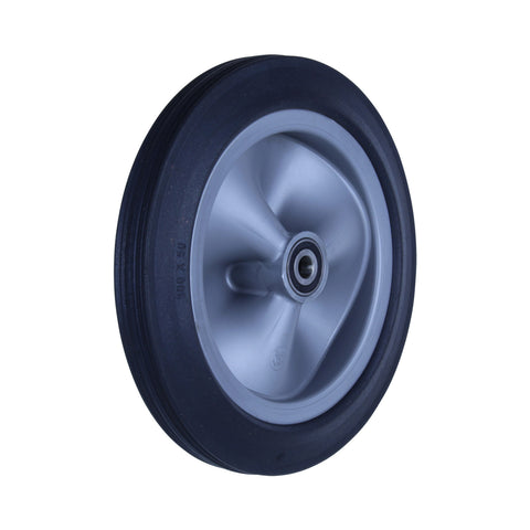 R300/50C-PRYQ58 150 Kg <span>Black Rubber Wheel</span>