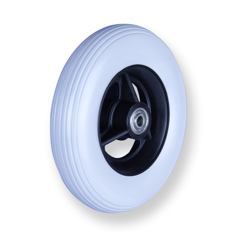 REX 6 Inch X 1.25 Inch Wheel 30 Kg Grey Rubber Wheel