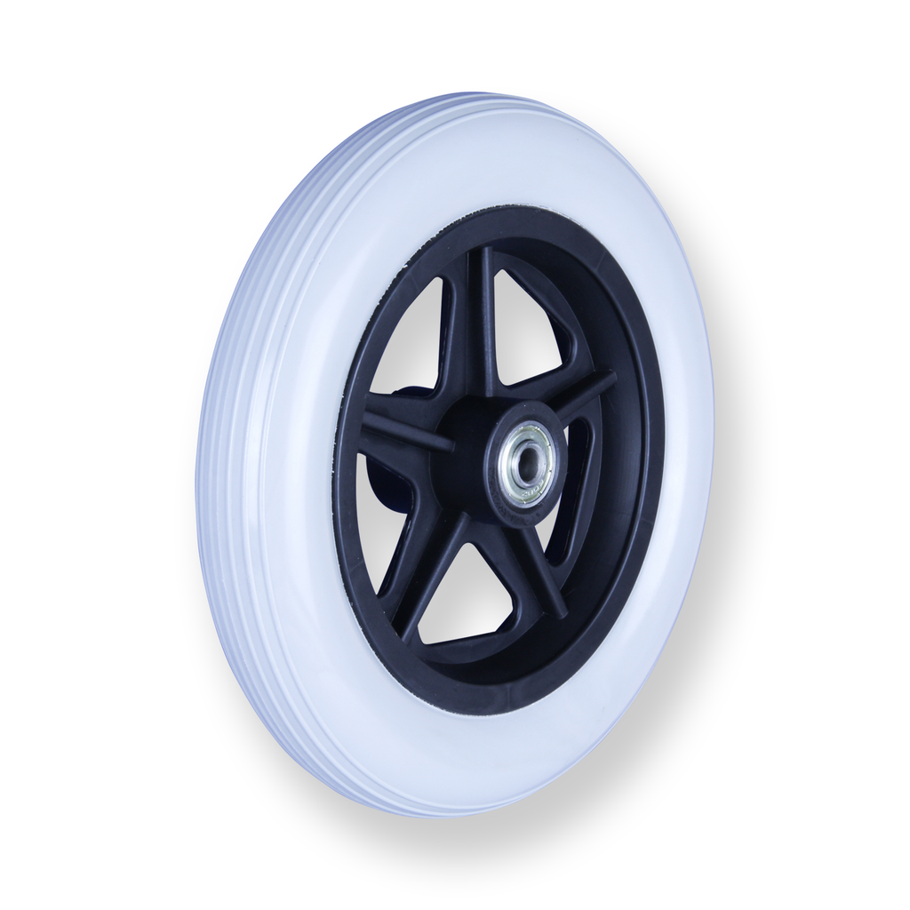 REX 7 Inch X 1.25 Inch Wheel 30 Kg <span>Grey Rubber Wheel</span>