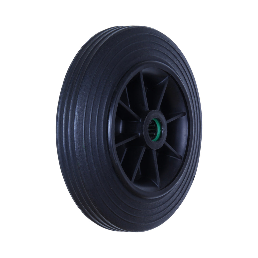 RRR200 30kg Black Rubber Wheel