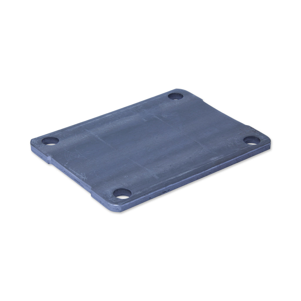 SPPLATEHISORAW 130mm x 100mm <span>Raw Steel Mounting Plate</span>