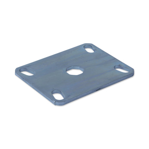 SPPLATEMISO 96mm x 78mm <span>Zinc Plated Steel Mounting Plate</span>
