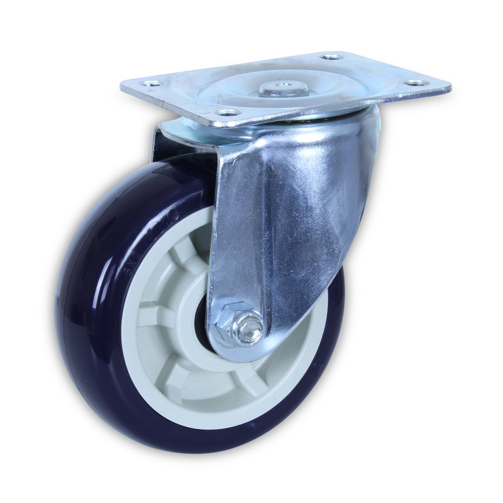 SZS15050-UPB 500 Kg Zinc Castor <span>Swivel P/U on Polyprop 150mm x 50mm</span>