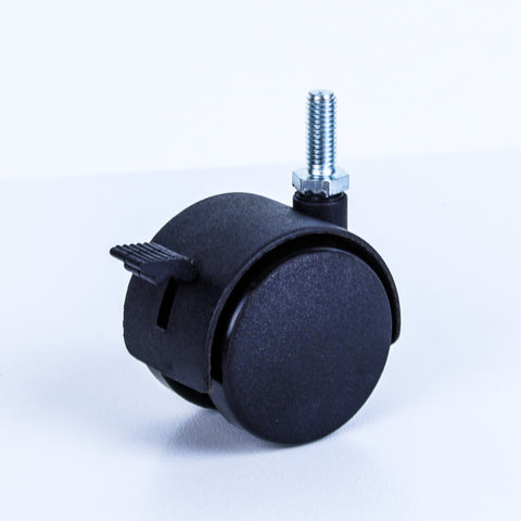 "TW50-5/16BR <span>40 Kg Swivel 5/16"" BSW Wheel Brake 50mm Nylon</span>"