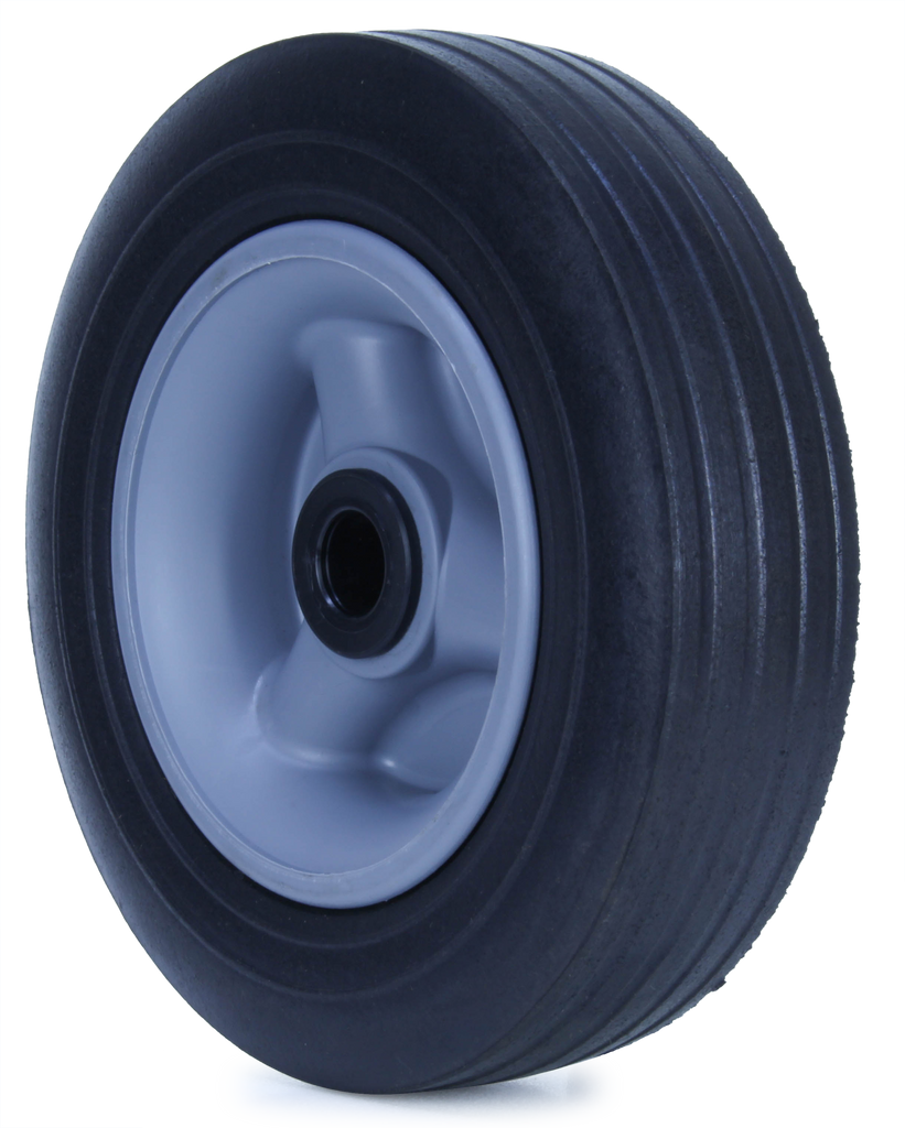 U200/60C-POYA34 135 Kg Black Rubber Wheel