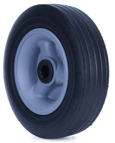 U200/60C-POYA20 135 Kg <span>Black Rubber Wheel</span>