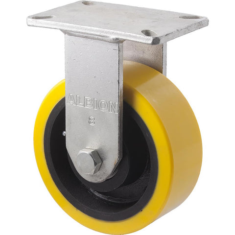 VUQ200/VZF <span>2000 Kg Fixed Plate 200mm Polyurethane</span>