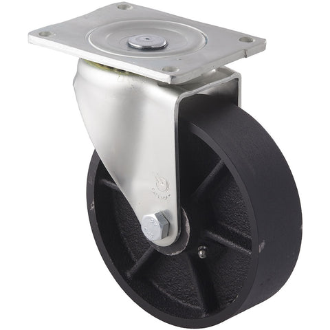 WCI150/OZP <span>400 Kg Swivel Plate 150mm Cast Iron</span>