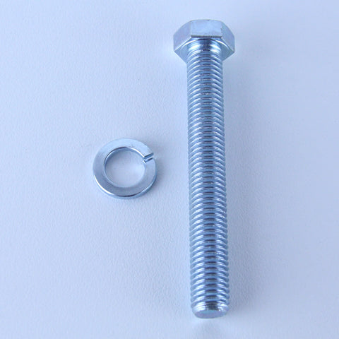 M12X90 Set Screw + Spring Washer <SPAN>Pack of 1 each to suit Bolt-Hole Castors</SPAN>