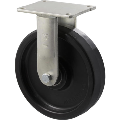 WNQ200/HZF H SERIES <span>600 Kg Fixed Plate 200mm Black Nylon</span>