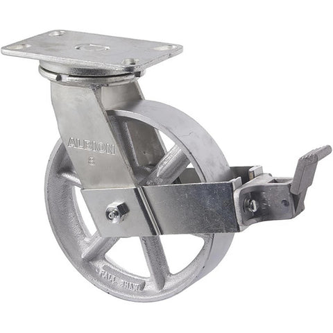 XCQ200/XZPBR <span>820 Kg Swivel Plate Brake 200mm Cast Iron</span>