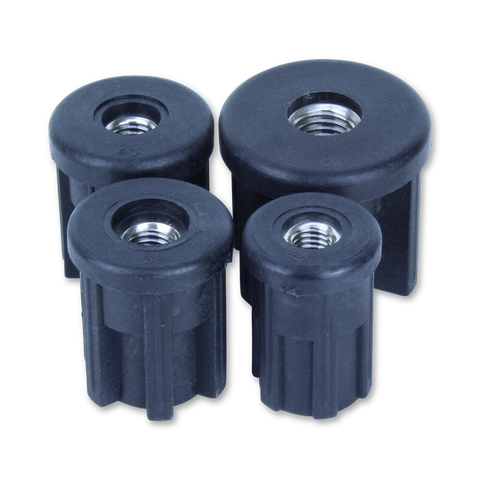 81/25/M8 25mm Round S/S Threaded Tube Insert