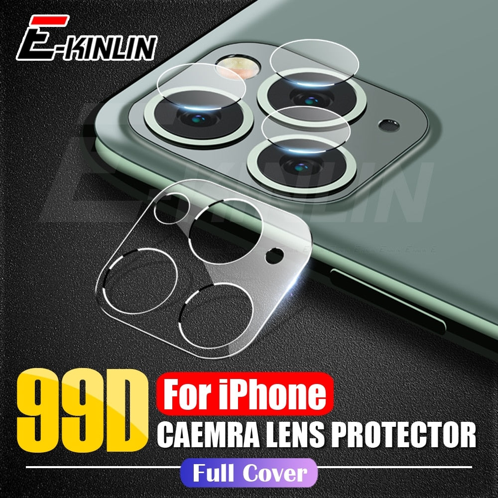 Camera Lens Screen Protector For iPhone 11 Pro XS Max XR X Tempered Glass