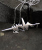 Soundwave Pendant & Chain
