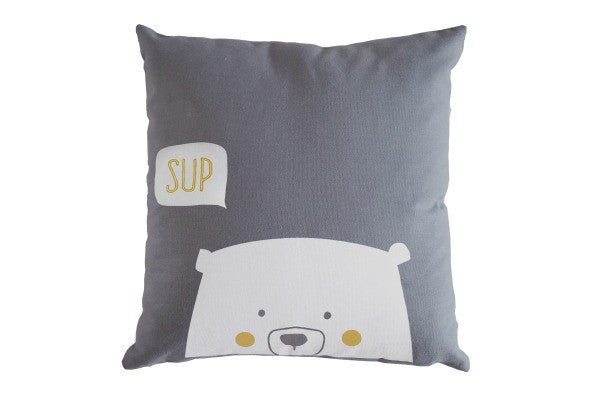 Bandit Bear cushion