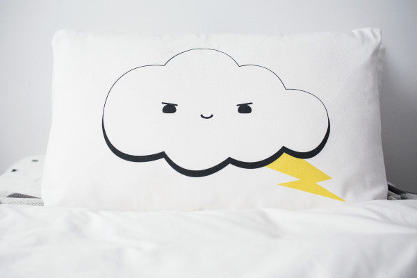 MR THUNDERBOLT CUSHION COVER