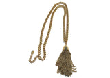 Tassel Necklace  gold