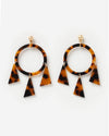 Izoa Alchemy Earrings Tortoise Shell
