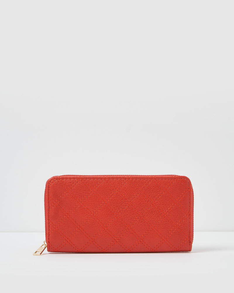 Izoa Andi Wallet Red