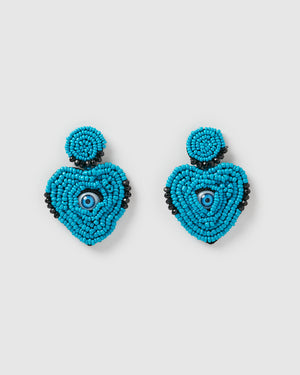 Izoa Apparition Earrings Blue