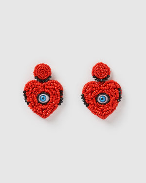 Izoa Apparition Earrings Red