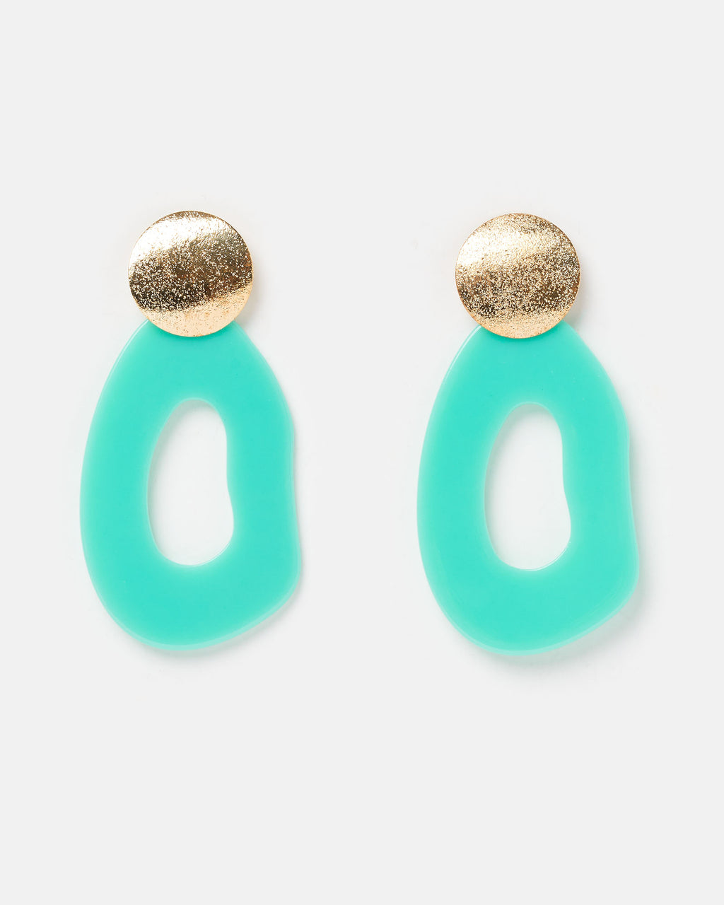 Izoa Artist Earrings Mint