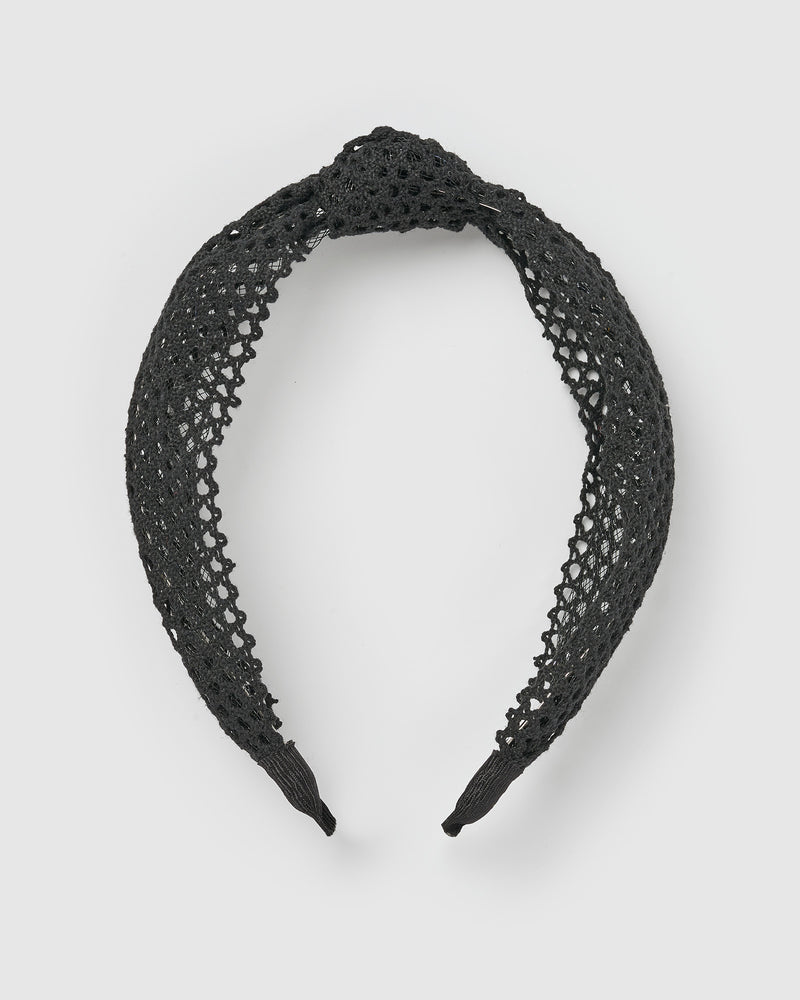 Izoa Arielle Headband Black