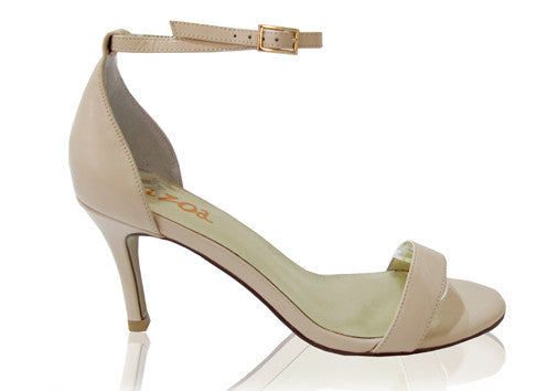 Izoa Athena Heels Nude (SIZES 35 & 36 ONLY)