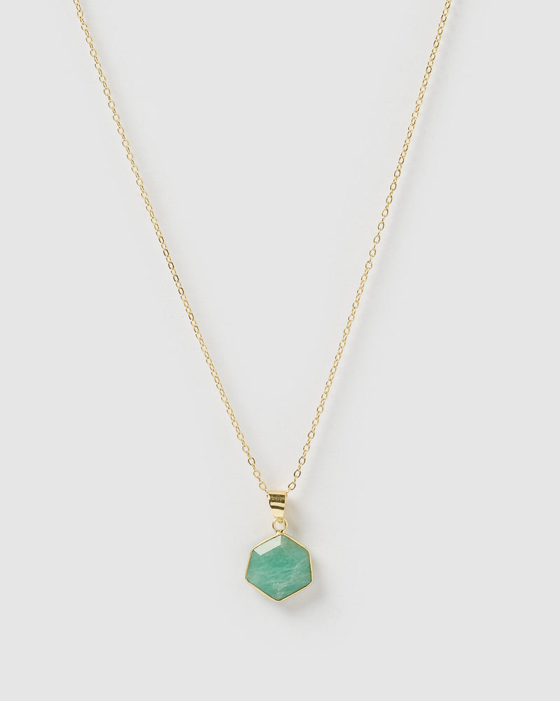 Miz Casa & Co Aurora Necklace Amazonite