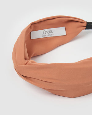 Izoa Taylor Headband Dusty Rose