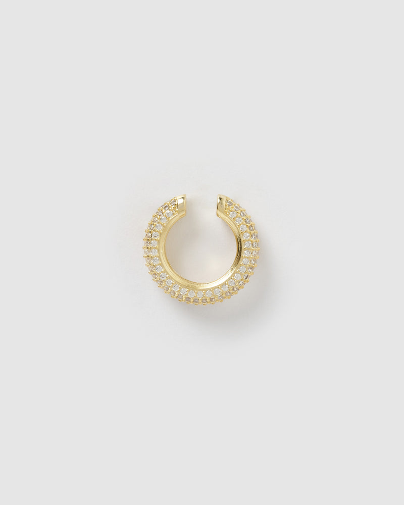 Izoa Willow Ear Cuff Gold