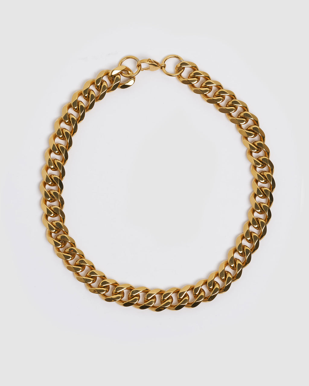 Izoa Tass Chain Necklace Gold