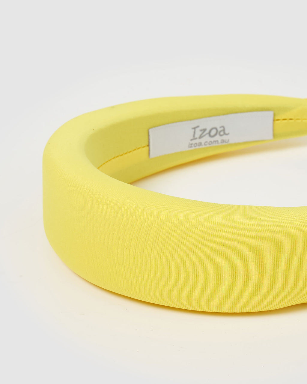 Izoa Blair Headband Yellow