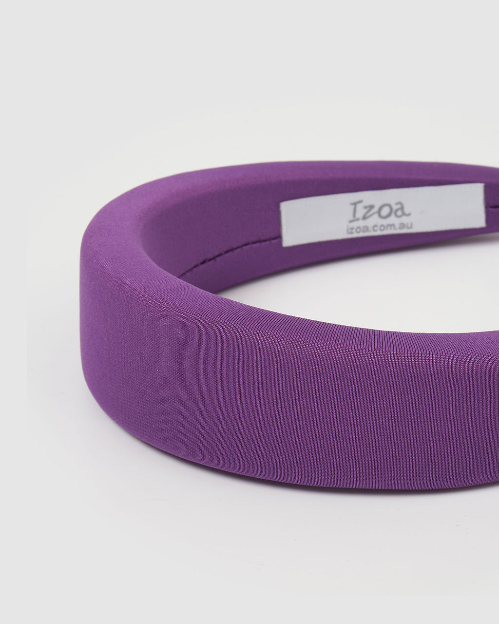Izoa Blair Headband Purple
