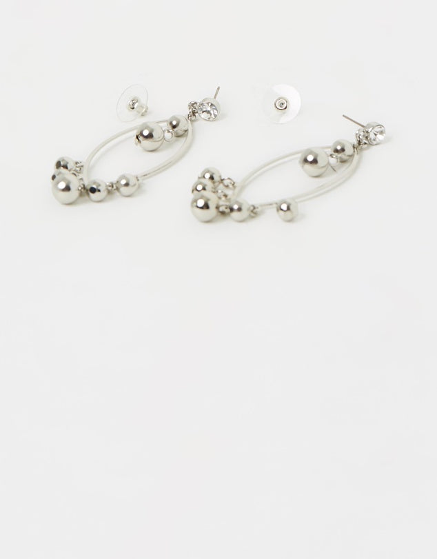 Izoa Bells Earrings Silver