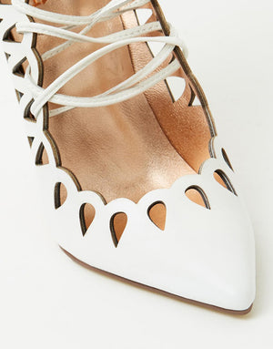 The Breanna Heels White by SBB The Label
