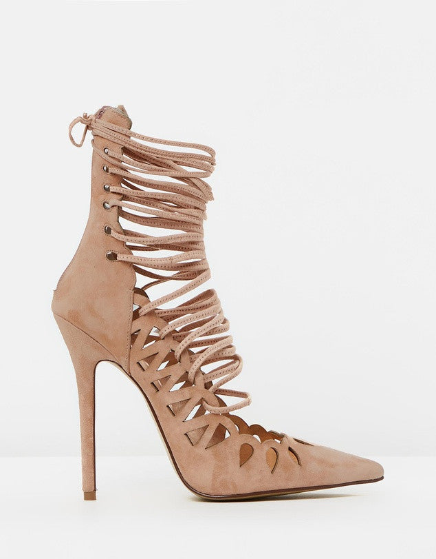 The Breanna Blush Suede By SBB The Label