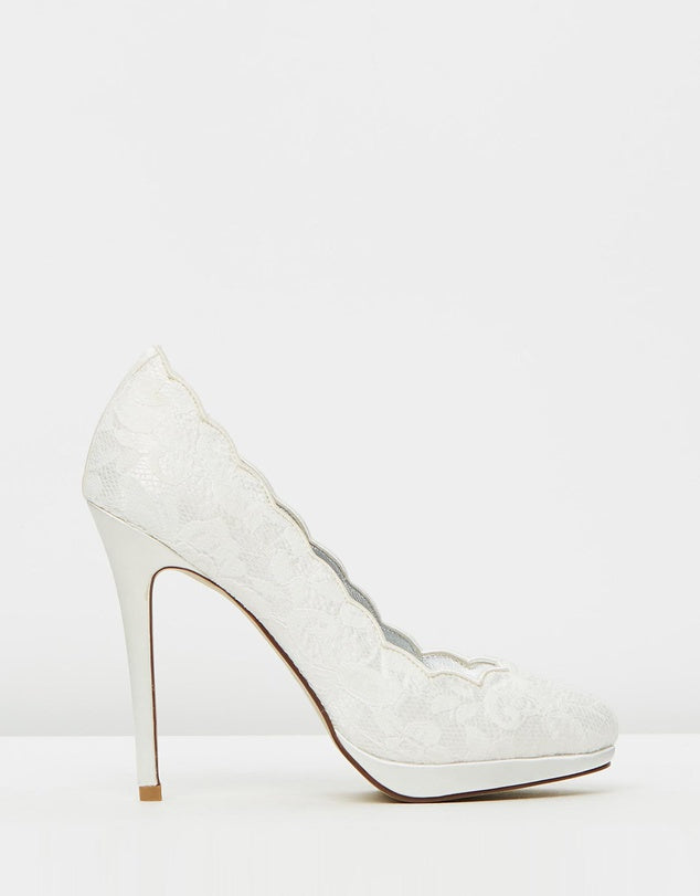 Izoa Bridal Waltz Heels Ivory (SIZES 36 & 37 ONLY)
