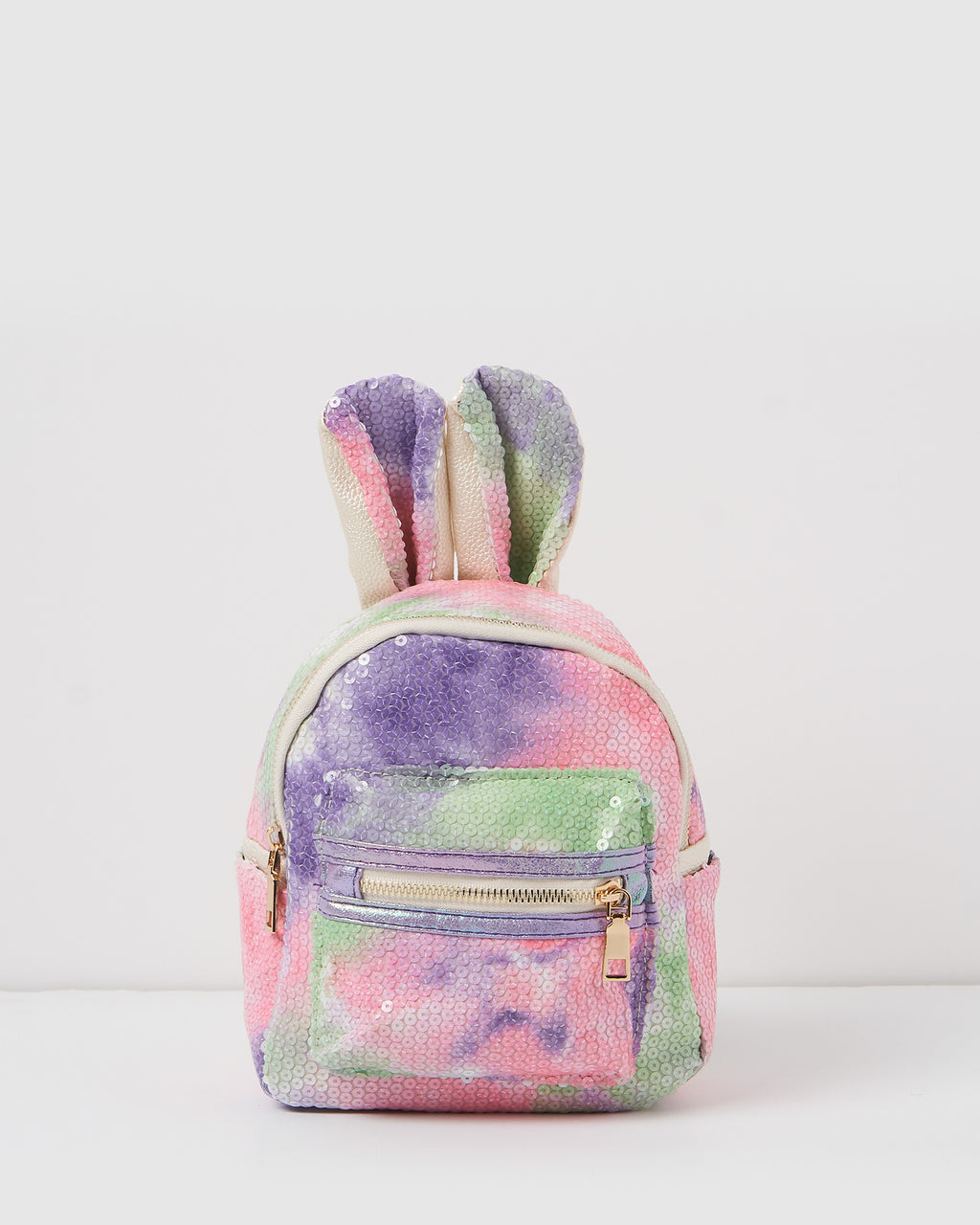 Izoa Kids Mini Ears Backpack Purple Multi