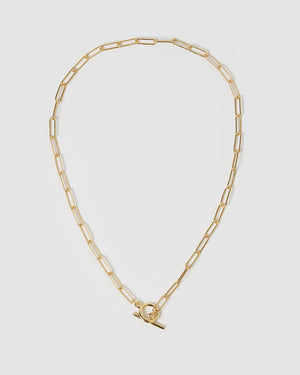 Izoa Bronx Necklace Gold