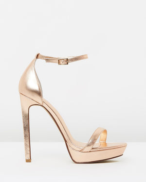 Izoa Cara Heels Rose Gold (SIZE 41 ONLY)