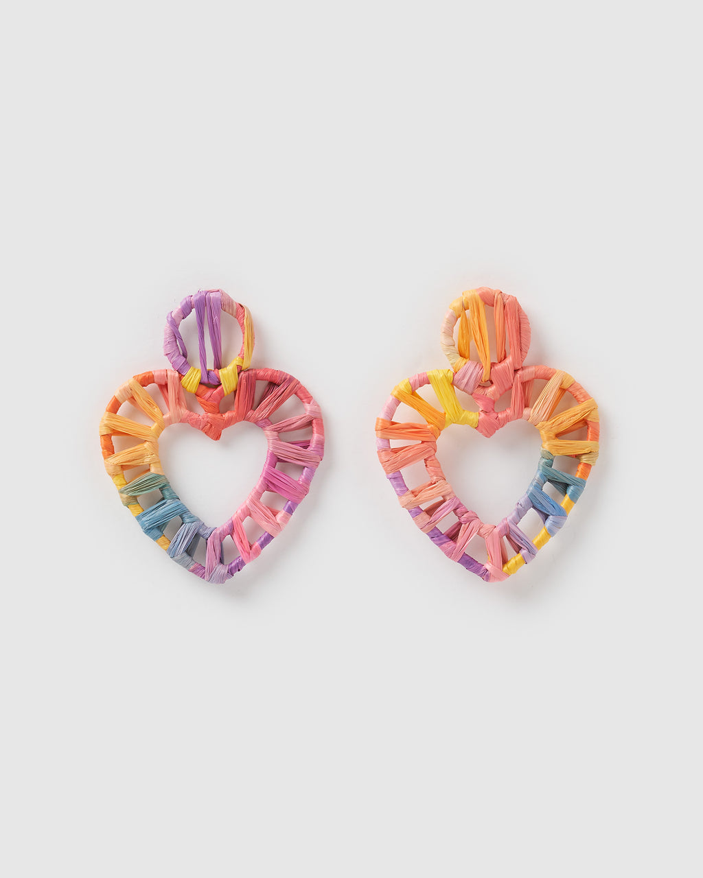 Izoa Craft Earrings Rainbow